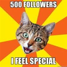 500 followers