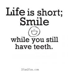 Life is short