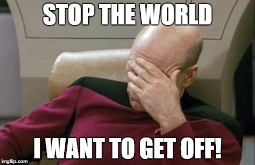 Stop the worlf