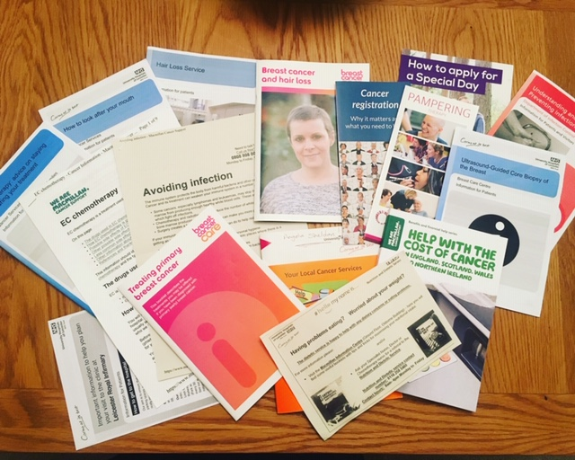 all of the leaflets