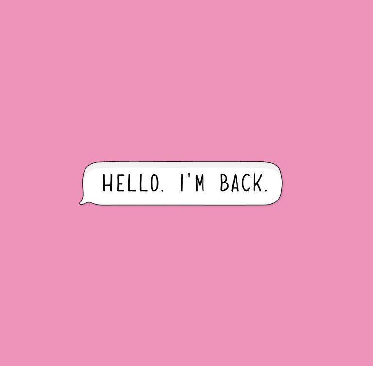 i'm back copy